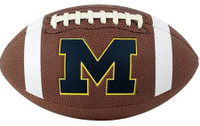 Charles Woodson Autographed Michigan Wolverines Logo Brown Football (Pre-Order)