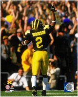 Charles Woodson Autographed Michigan Wolverines 8x10 Photo #1 (Pre-Order)