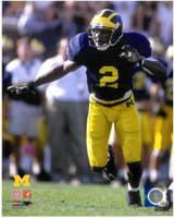 Charles Woodson Autographed Michigan Wolverines 8x10 Photo #2 (Pre-Order)