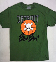 Detroit Bad Boys Men's Green T-Shirt