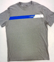 Detroit Lions Men's Under Armour Grey Combine Triblend Tshirt