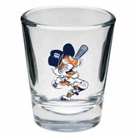 Detroit Tigers Boelter Brands Cooperstown Swinging Kitty 2 oz Shot Glass