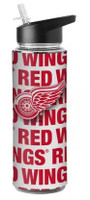 Detroit Red Wings Boelter Brands NHL Flip-Top Bottle with Straw (25 Oz.)