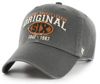 Original Six 47 Brand Henrick Charcoal Clean Up Adjustable Hat