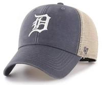 Detroit Tigers 47 Brand Vintage Navy MVP Mesh Adjustable Hat