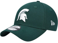Michigan State University New Era Green The League Logo 9FORTY Adjustable Hat