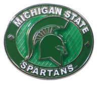 Michigan State University Aminco Oval Pin