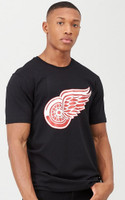 Detroit Red Wings Men's 47 Brand Forward For The Active Fan Black Tshirt