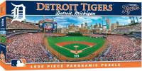 Detroit Tigers Masterpieces Inc. 1000-Piece Stadium Panoramic Puzzle