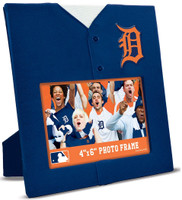 "Detroit Tigers Masterpieces Uniformed 4""x6"" Horizontal Picture Frame"