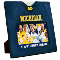 "University of Michigan Masterpieces Uniformed 4""x6"" Horizontal Picture Frame"