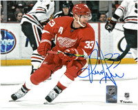 Kris Draper Autographed Red Wings 8x10 Photo