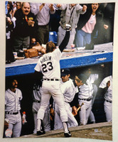 Kirk Gibson Autographed 16x20 Photo #3 - WS HR Celebration (Pre-Order)