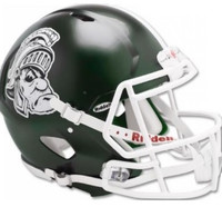Michigan State University Riddell Gruff Sparty Speed Replica Full Size Helmet