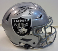 Charles Woodson Autographed Riddell Authentic Speed Flex Full Size Raiders Helmet