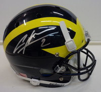 Charles Woodson Autographed Schutt Replica Full Size University of Michigan Helmet