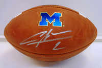 Charles Woodson Autographed University of Michigan Authentic Football