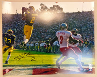 Charles Woodson Autographed University of Michigan 16x20 Photo