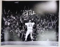 Kirk Gibson Autographed Detroit Tigers 16x20 Photo #2 - 1984 WS HR Base Path Celebration