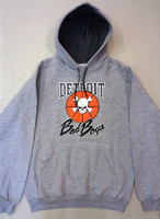 Detroit Bad Boys Men's Grey Hoodie
