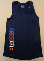 Detroit Tigers Youth Under Armour Side Color Tank Top – Navy