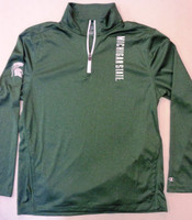 Michigan State University Men's Champion Green 1/4 Zip Longsleeve
