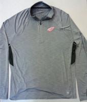 Detroit Red Wings Men's 47 Brand Grey 1/4 Zip Longsleeve