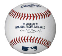 Denny McLain Autographed Official MLB Baseball (Pre-Order)