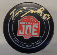 Tomas Nosek Autographed Farewell To The Joe Game Puck