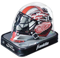 Manny Legace Autographed Detroit Red Wings Mini Goalie Mask  (Pre-Order)