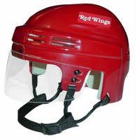 Brian Rafalski Autographed Detroit Red Wings Red Mini Helmet (Pre-Order)