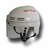 Brian Rafalski Autographed Detroit Red Wings White Mini Helmet (Pre-Order)