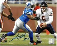 Cliff Avril Autographed Detroit Lions 8x10 #1