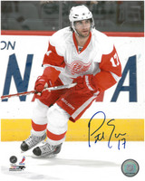 Patrick Eaves Autographed Detroit Red Wings 8x10 Photo #1