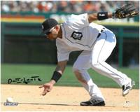 Omar Infante Autographed Detroit Tigers 8x10 Photo #2