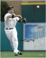 Omar Infante Autographed Detroit Tigers 8x10 Photo #3