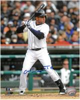 Omar Infante Autographed Detroit Tigers 8x10 Photo #4