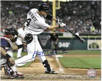 Omar Infante Autographed Detroit Tigers 8x10 Photo #5
