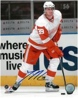 Jan Mursak Autographed Detroit Red Wings 8x10 Photo #2