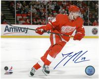 Jan Mursak Autographed Detroit Red Wings 8x10 Photo #3