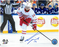Gustav Nyquist Autographed Detroit Red Wings 8x10 Photo #7