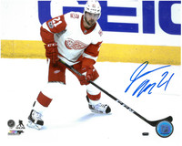 Tomas Tatar Autographed Detroit Red Wings 8x10 Photo #10