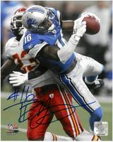 Titus Young Autographed Detroit Lions 8x10 #1