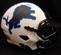 Detroit Lions Riddell Lunar Eclipse Full Size Speed Authentic Helmet
