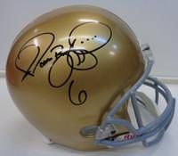 Jerome Bettis Autographed Notre Dame Replica Helmet