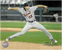 Casey Mize Autographed 8x10 #1 - MLB Debut Horizontal (Pre-Order)