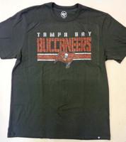 Tampa Bay Buccaneers Men's 47 Brand Stripe Thru Franklin Tshirt