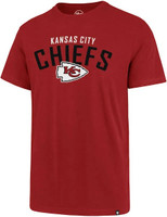 Kansas City Chiefs Men's 47 Brand Outrush Super Rival Tshirt