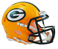 Aaron Rodgers Autographed Green Bay Packers Riddell Speed Mini Helmet (Pre-Order)