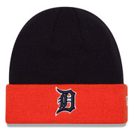 Detroit Tigers New Era Navy Blue Basic Cuff Mens Knit Hat